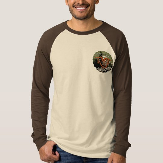 Adult Long Sleeve Raglan RFT Logo T-Shirt