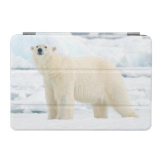 Adult polar bear in search of food iPad mini cover