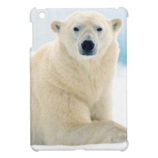 Adult polar bear large boar on the summer ice case for the iPad mini