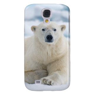 Adult polar bear on the summer pack ice galaxy s4 case