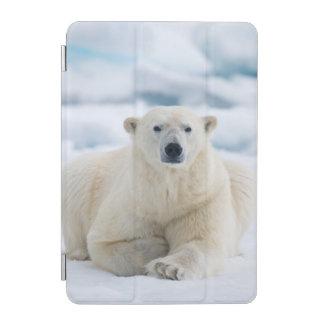 Adult polar bear on the summer pack ice iPad mini cover
