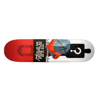 Adult Problems Custom Skate Board