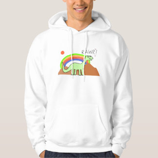 Adult Rainbow Rawr Hoodies
