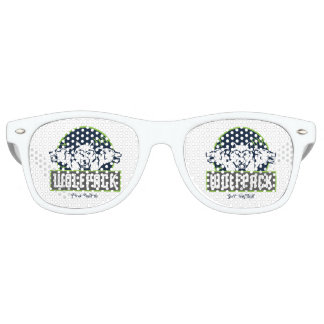 Adult Retro Party Shades, White Retro Sunglasses