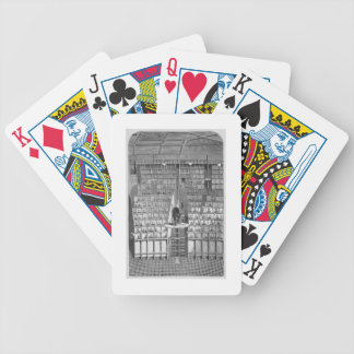 Adult School in the Chapel, on the Separate System Bicycle Playing Cards