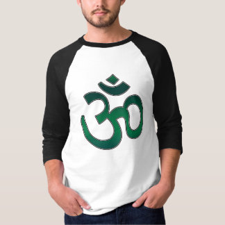 Adult Shirt, Ohm Symbol, Emerald Green T Shirts