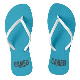 Adult Slim Strap Flip Flops