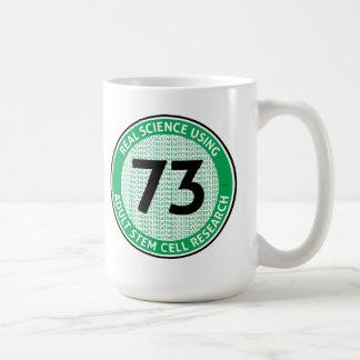 Adult Stem Cell Research Basic White Mug