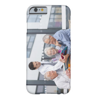 Adult students and teacher studying together in 2 barely there iPhone 6 case