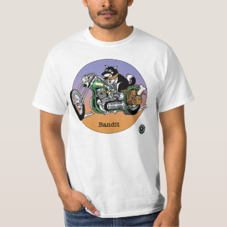 Adult T-Shirt - Bandit, Bikers are Animals ©