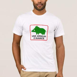 Adult tee-shirt - a HEAT IN ADVANCE T-Shirt