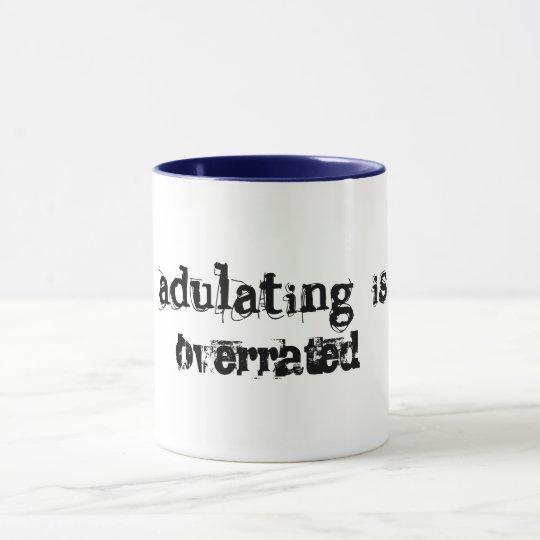 adulting is over rated funny coffee mug gift