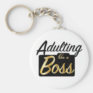 Adulting like a Boss | Keychain