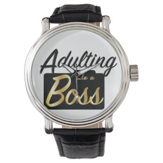 Adulting like a Boss | Watch
