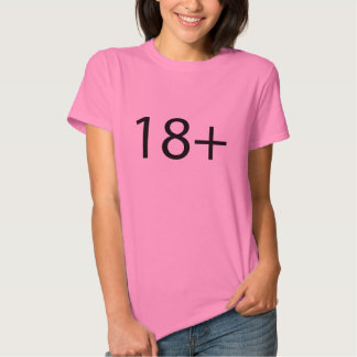 Adults only tee shirt