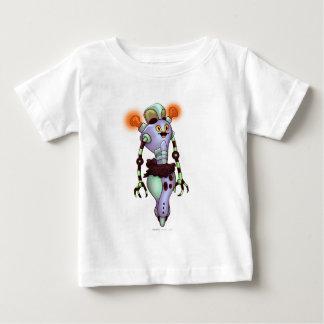 ADUZ CARTOON ROBOT HANES Baby Fine Jersey T-Shirt