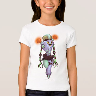 ADUZ ROBOT Bella+Canvas Fitted Babydoll T-Shirt