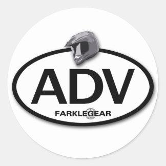 ADV Sticker