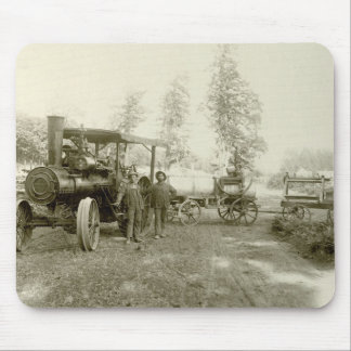 Advance Thresher Co. Traction Engine Mouse Mat