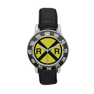 Advance Warning Sign-Railroad Crossings Watches