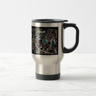 Advanced Electronics Revealed! Stainless Steel Travel Mug