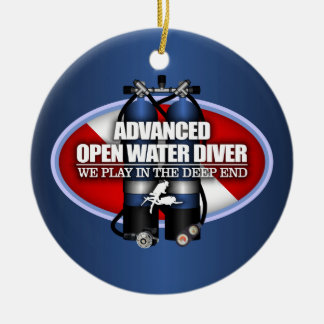Advanced Open Water (ST) Christmas Ornament