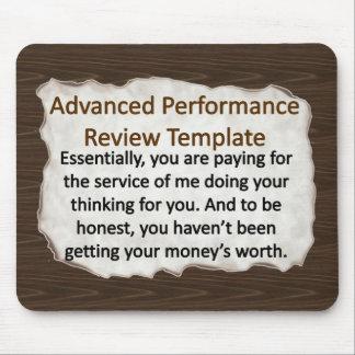 Advanced Performance Review Techniques Mouse Pad