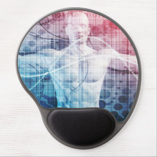 Advanced Technology and Science Abstract Gel Mouse Pad