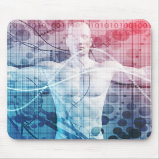 Advanced Technology and Science Abstract Mouse Pad