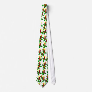 Advent Candle with Holly Tie