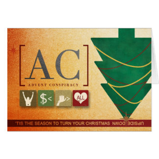 Advent Conspiracy Folded Card