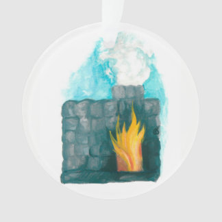 advent Jesse Tree Furnace Ornament
