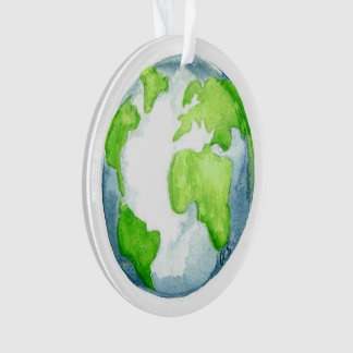 Advent Jesse Tree Globe Ornament