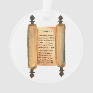 Advent Jesse Tree Scroll Ornament