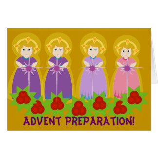 ADVENT Preparation! -Customize Note Card