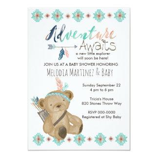 Adventure Await Baby Shower Invitation