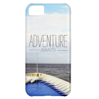 ADVENTURE AWAITS | CRUISE SHIP BOW SAILING SHIP COVER FOR iPhone 5C