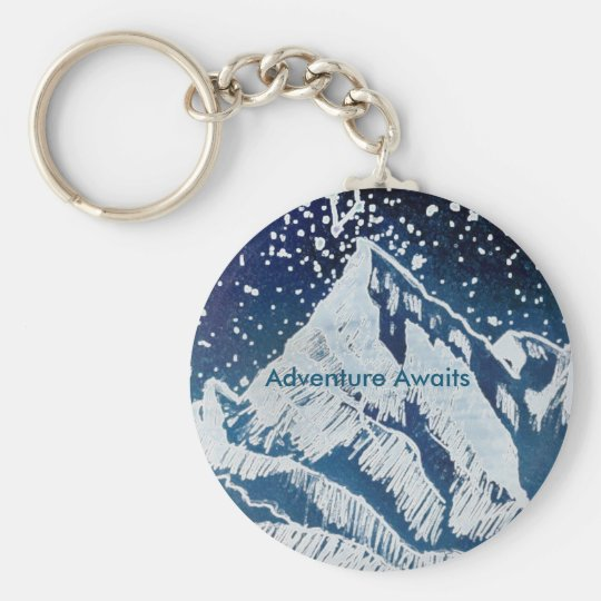 Adventure Awaits Key Chain