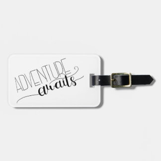 Adventure Awaits Luggage Tag