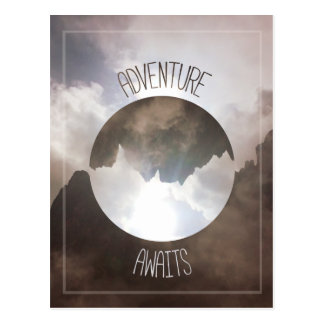 Adventure Awaits Postcard