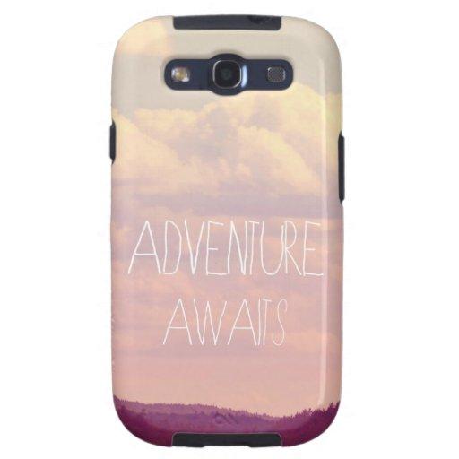 Adventure Awaits  Samsung Galaxy Phone Case Samsung Galaxy SIII Case