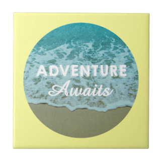 Adventure Awaits Tile