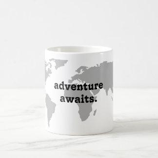 Adventure Awaits Travel Mug