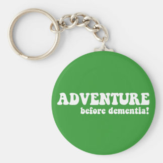 adventure before dementia key ring