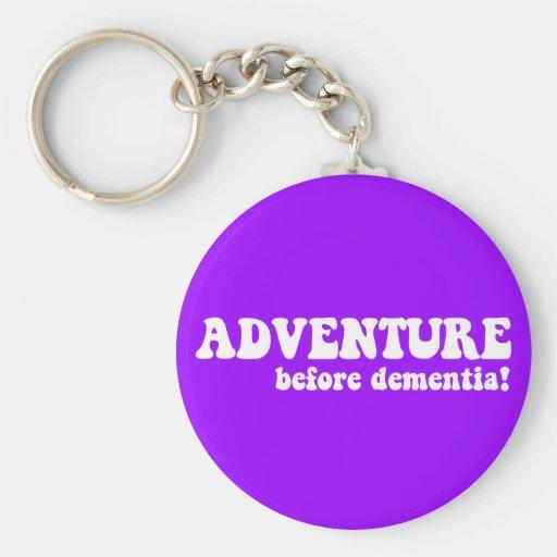 adventure before dementia key chains
