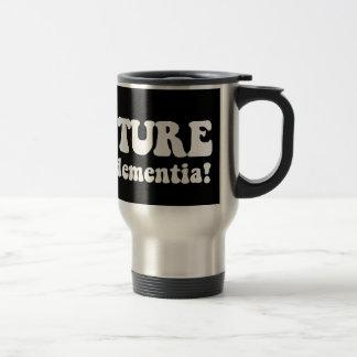 adventure before dementia stainless steel travel mug