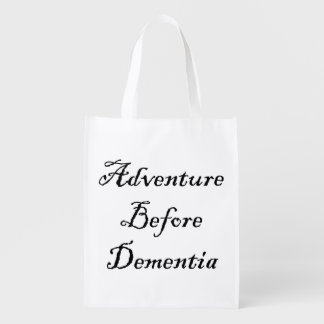 Adventure Before Reusable Bag Funny Traveler Bag