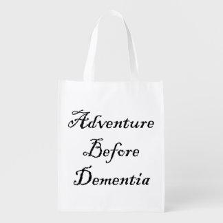 Adventure Before Reusable Bag Funny Traveler Bag