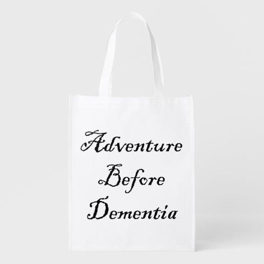 Adventure Before Reusable Bag Funny Traveller Bag