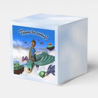 """Adventure Birthday Favor Box Classic 2x2"" Wedding Favour Boxes"